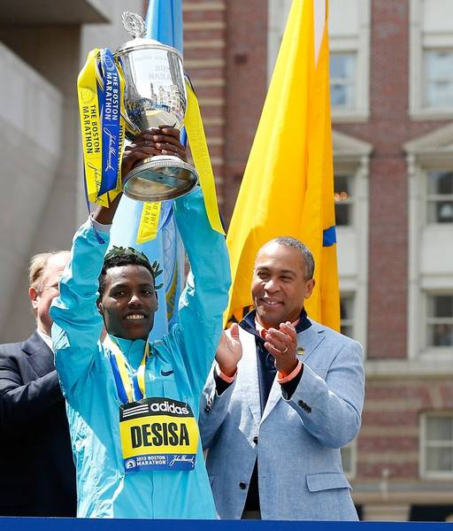 Lelisa-Desisa Benti -117th Boston Marathon-Winner