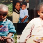 Simon Yehun Markeng Childhood photos during his stay in Amba Orphanage