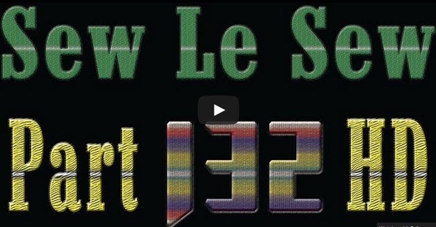 Sew Le Sew - 132