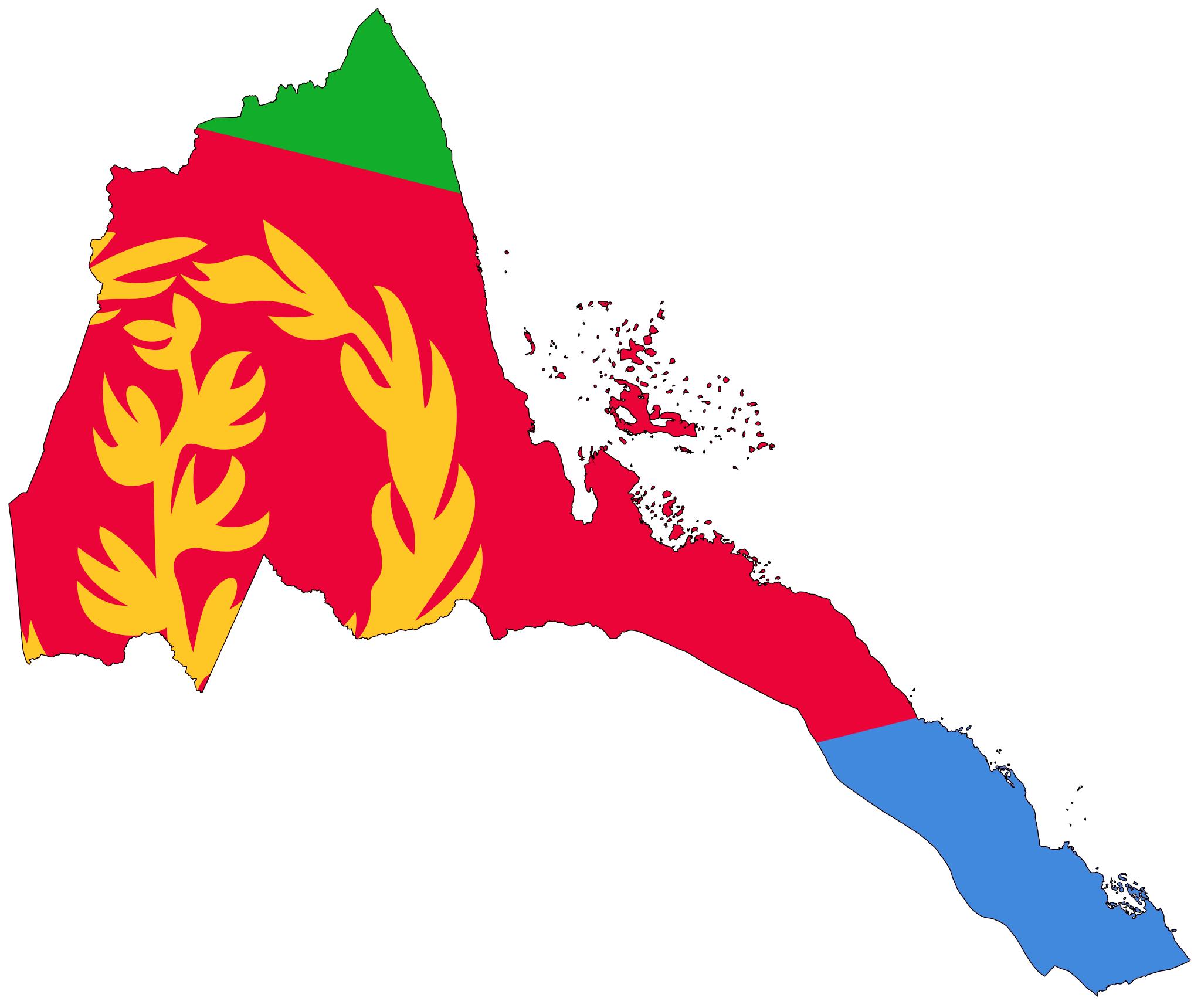 eritrea_flag_map