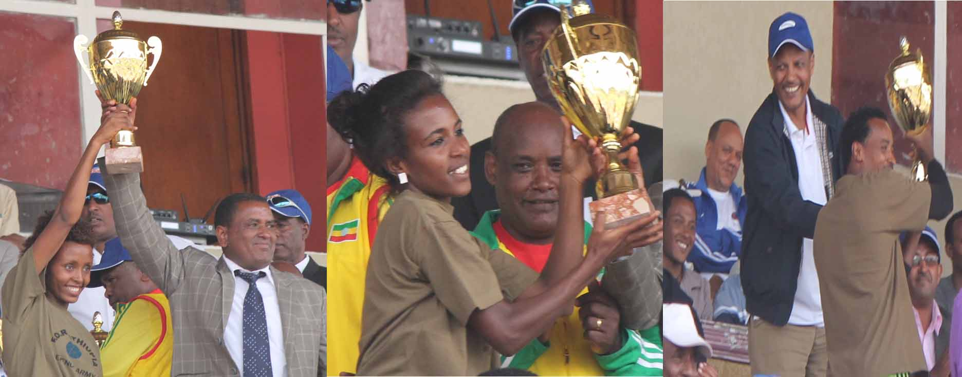Defence took all the trophys of 43rd Ethiopian Athletics Championships