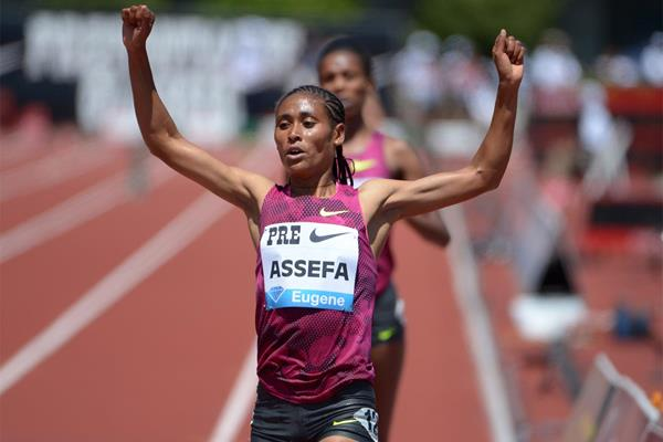 Sofia Assefa Photo IAAF DL