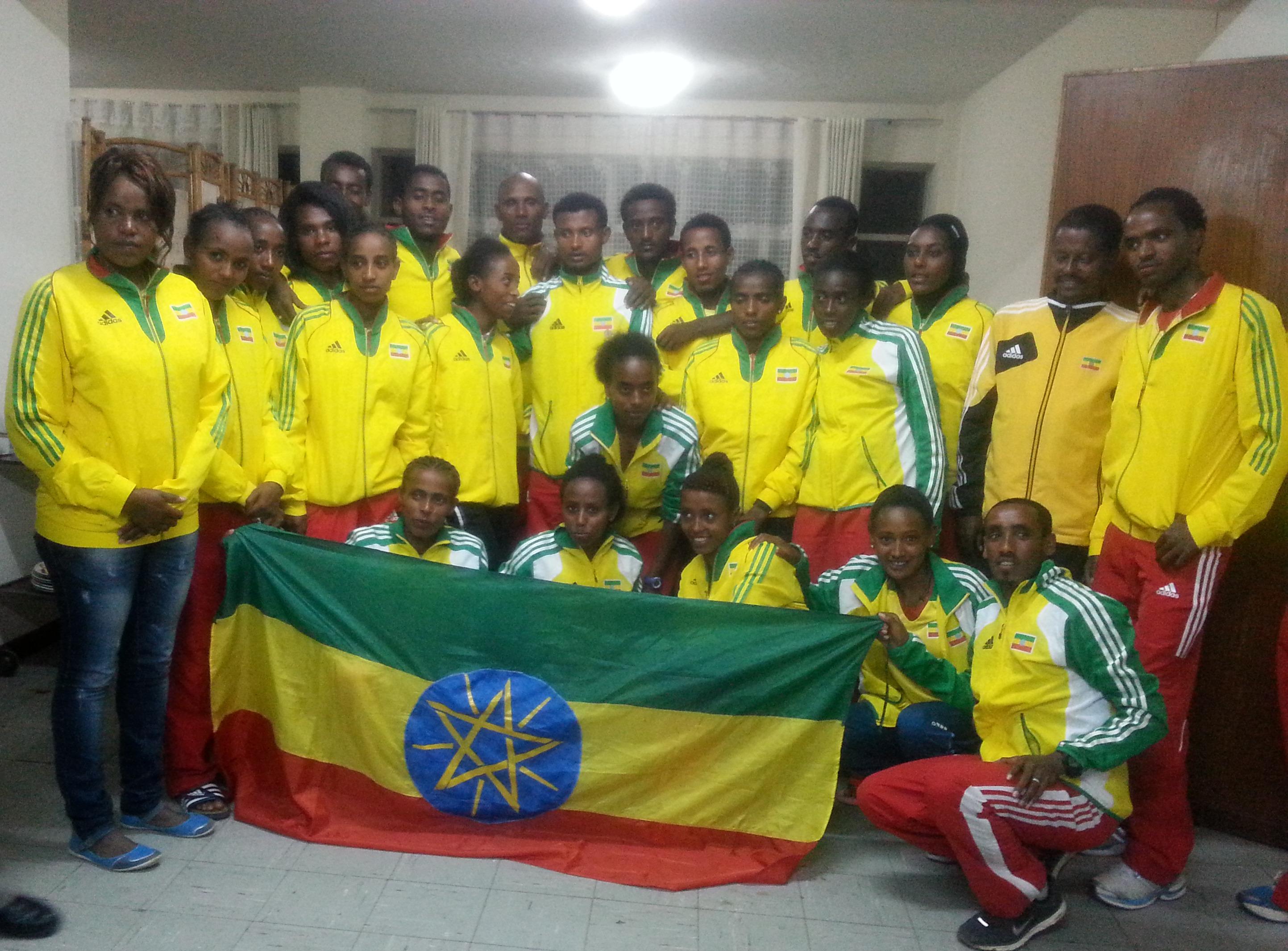 Team Ethiopia for WJC Eugen 2014