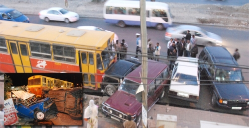 Bus accident kills people in Addis Ababa