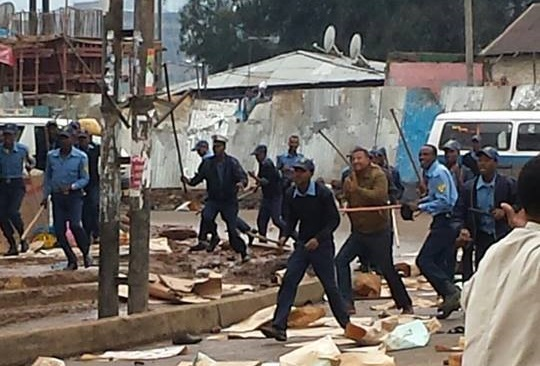 Polices suspected in Anwar Masjid Violence