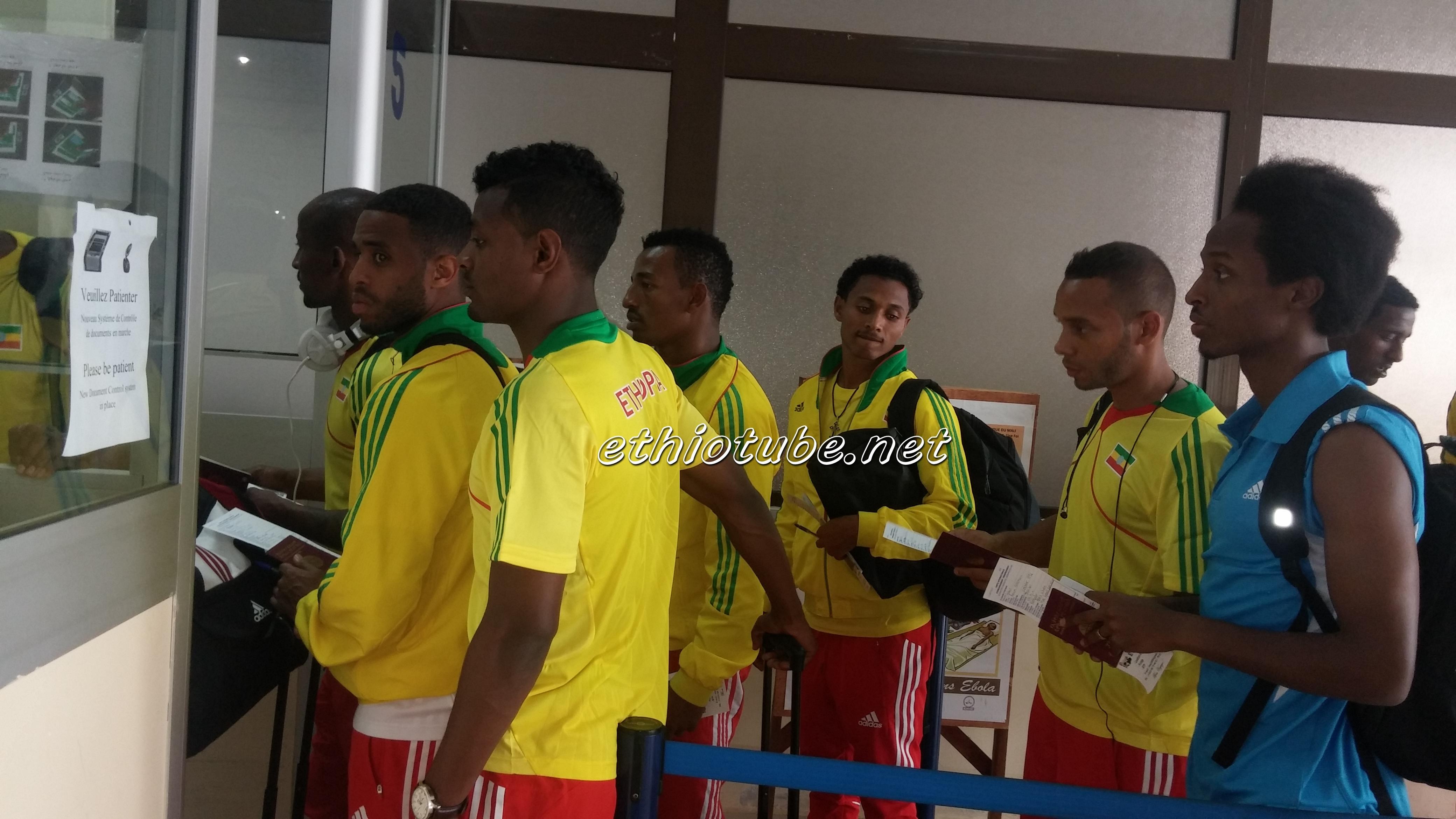 Team Ethiopia Arrival in Mali - Photo by EFF PR