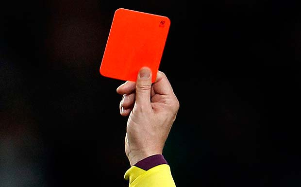 Football - Red Card