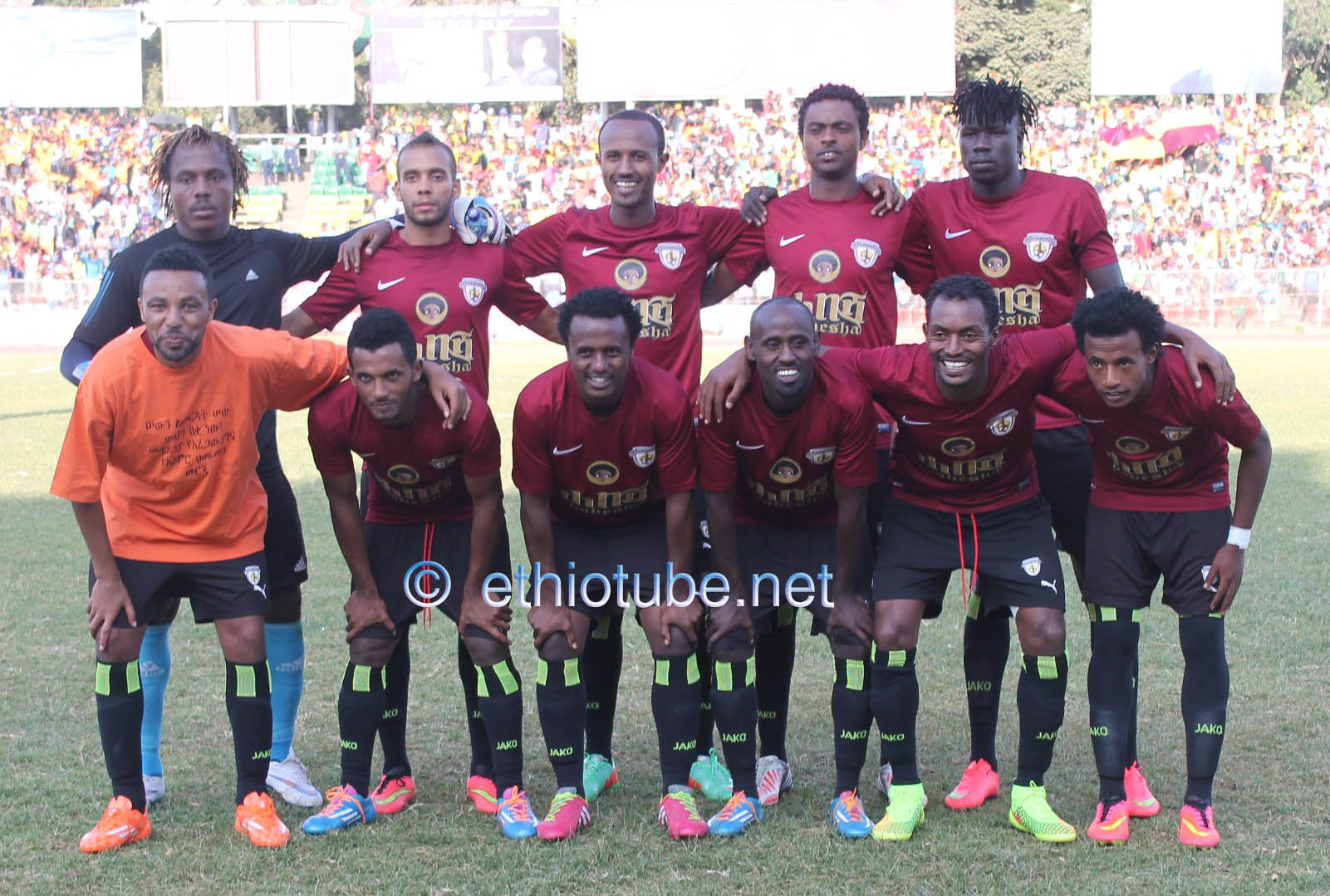 Ethio Coffee best 11 against St. George