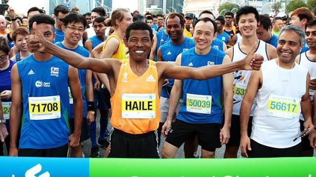 Haile in Singapore