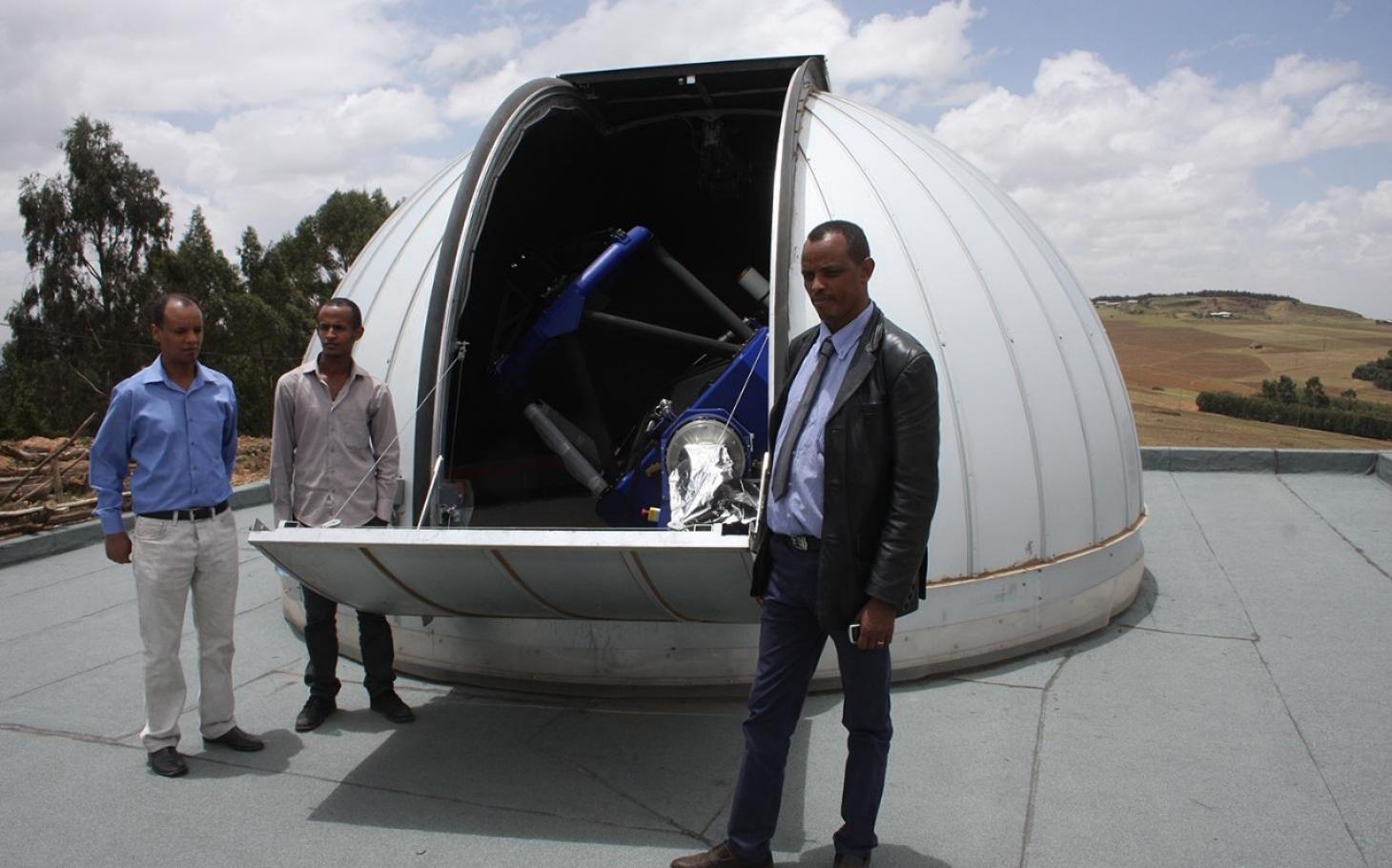 Ethiopia's First Telescope