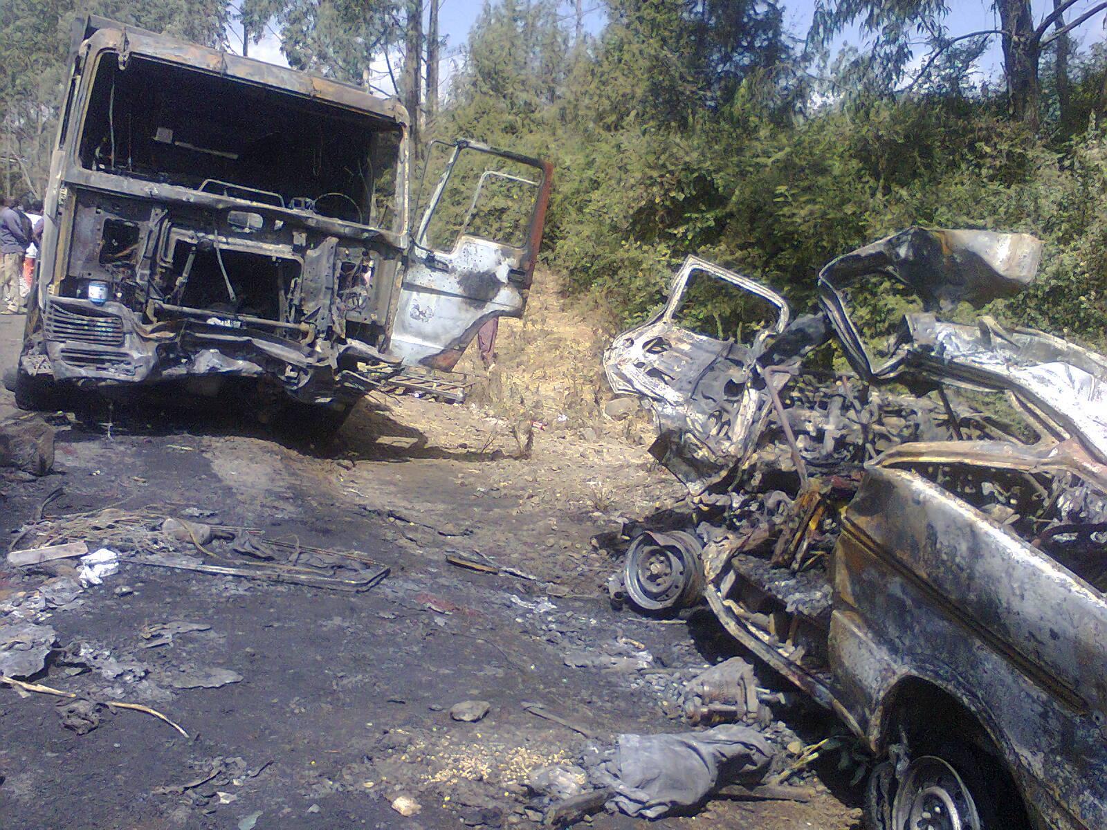Burayu Car Accident - 1