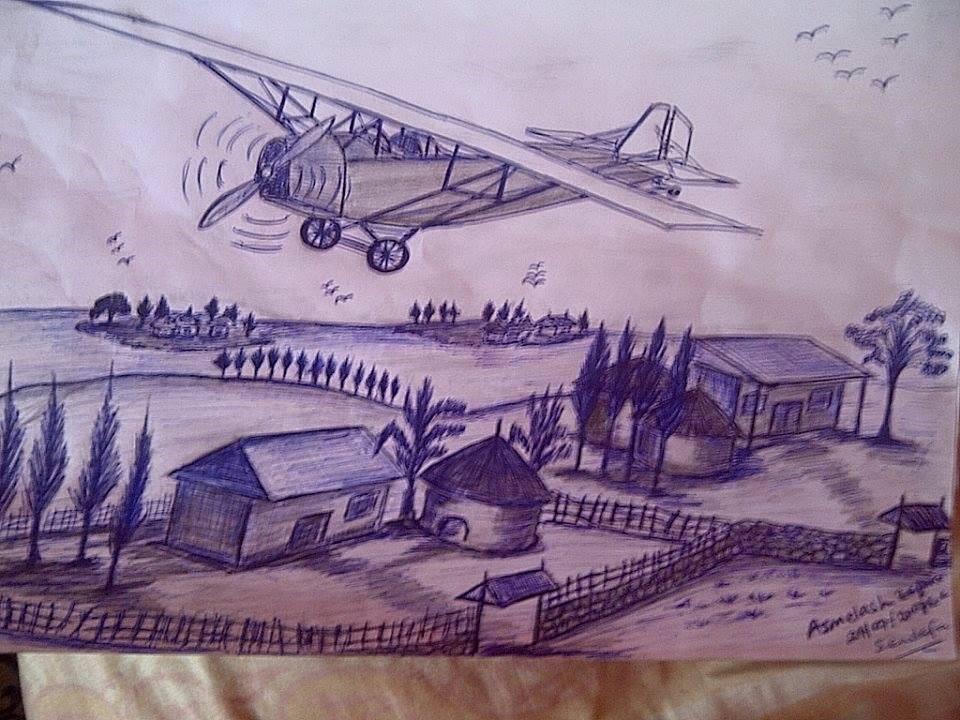 Ethiopian Built Small Plane 1