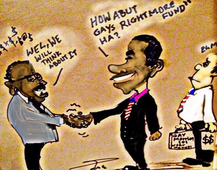 Cartoon of the Day - Obama goes to Ethiopia