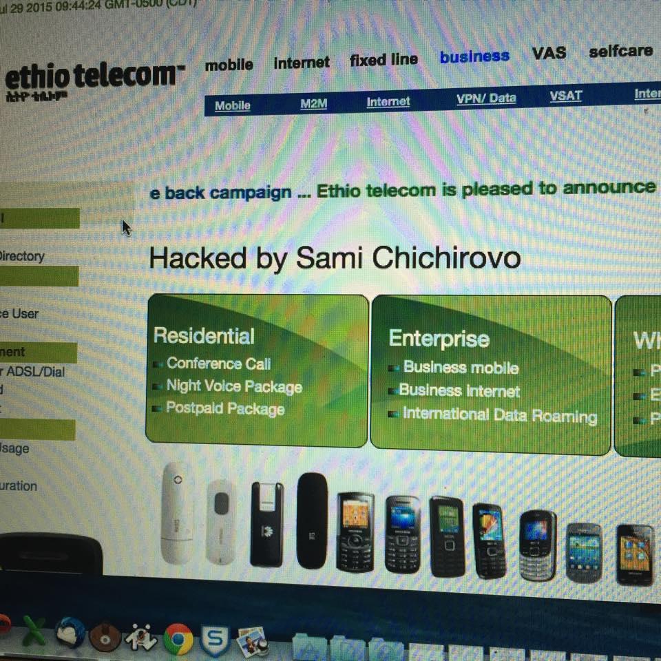 EthioTelecom Hacked