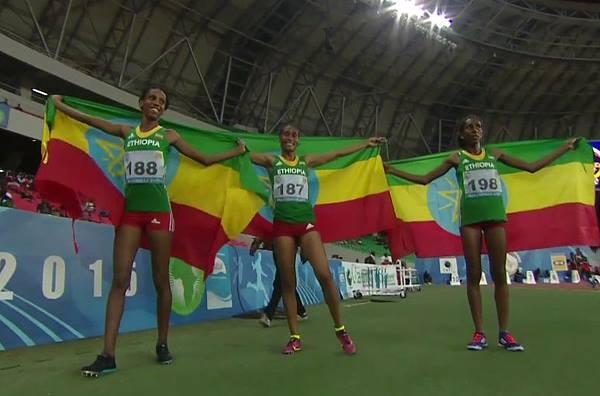 AAG Women 3000m SC winners