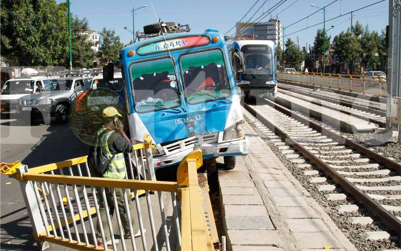 Addis Ababa Light Train Accident 2