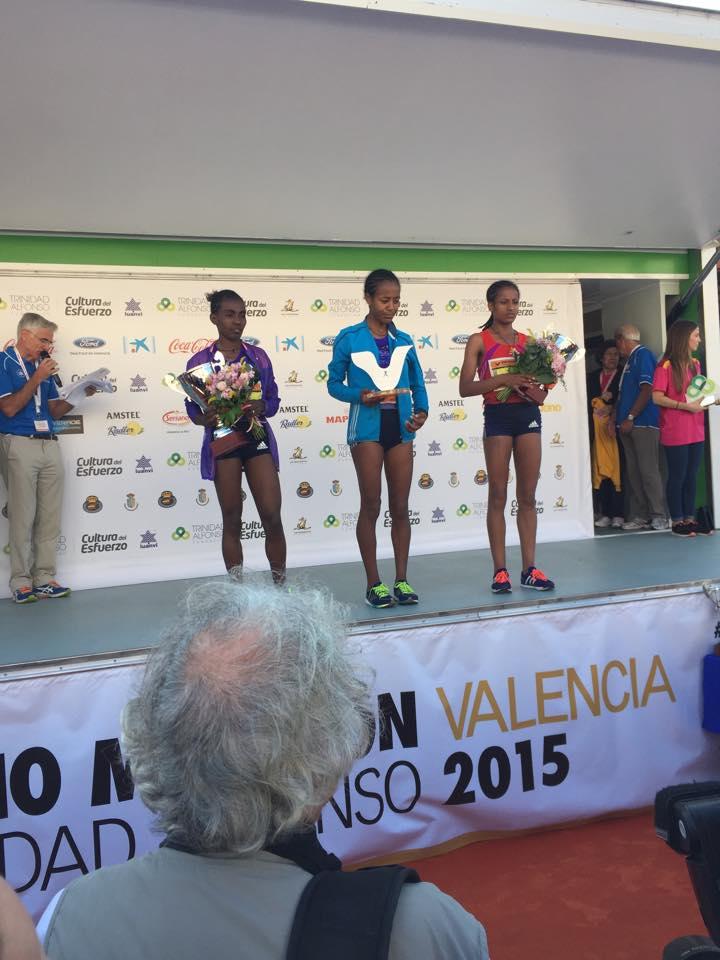 Winners at Valencia