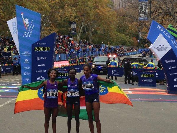 2015 New York Marathon women winners