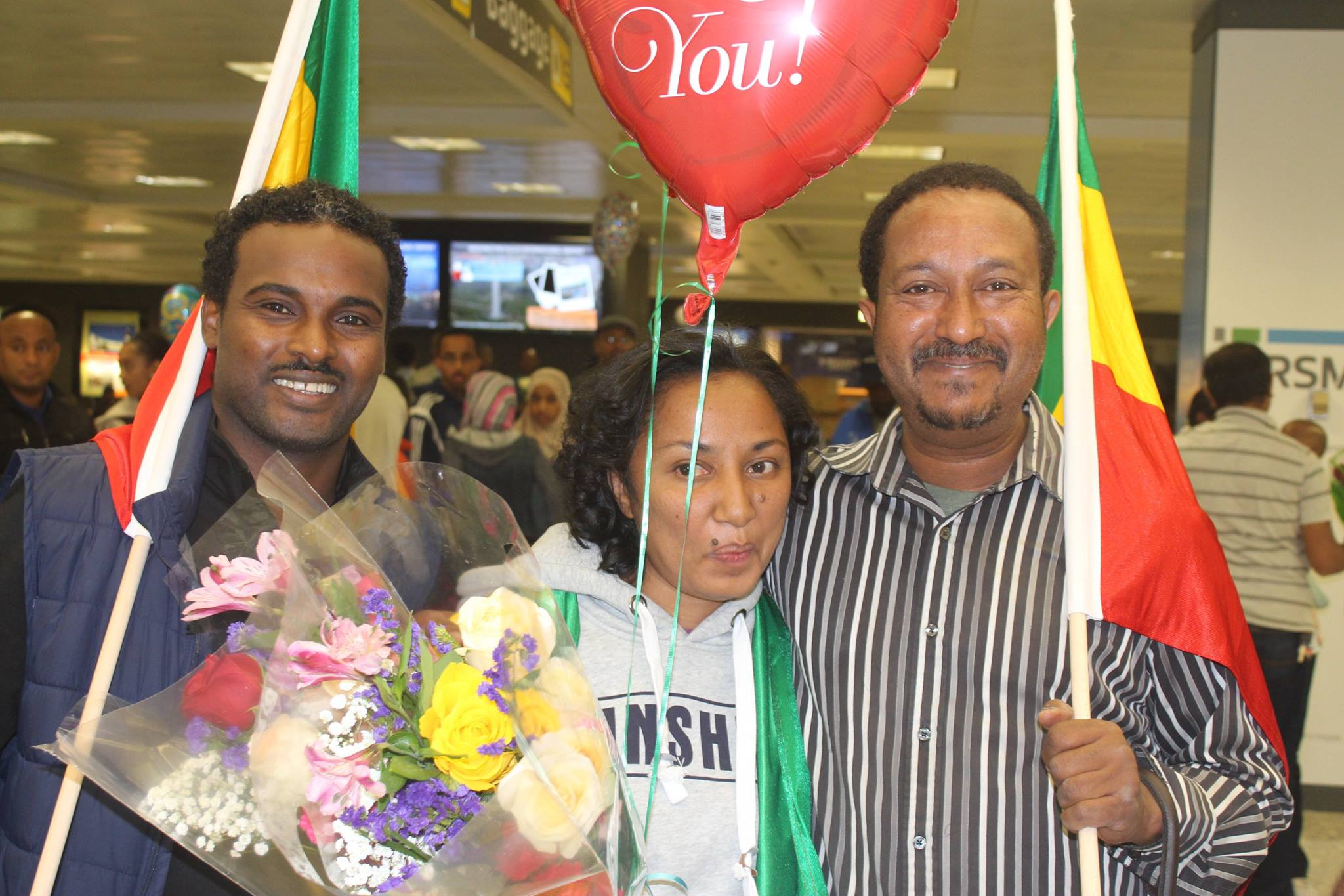 Reyot Alemu has arrived in Washington DC