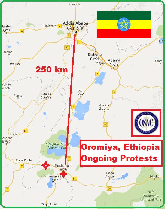 OSAC - Clash in Aje Oromia