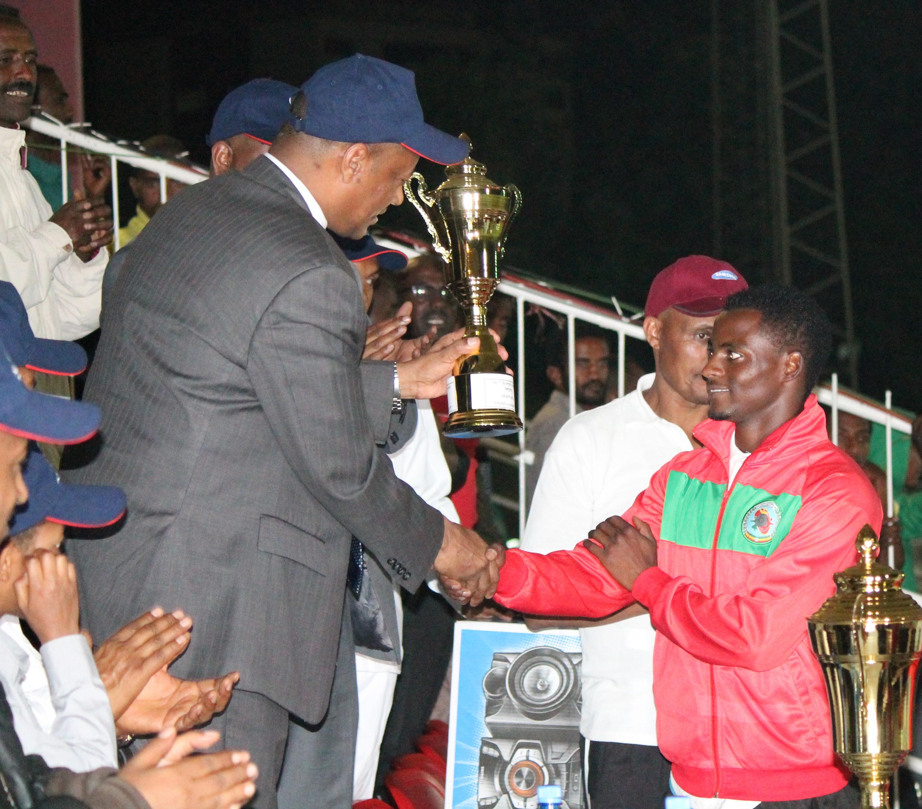 Team trophy winner - Defense