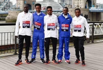London marathon 2017 men