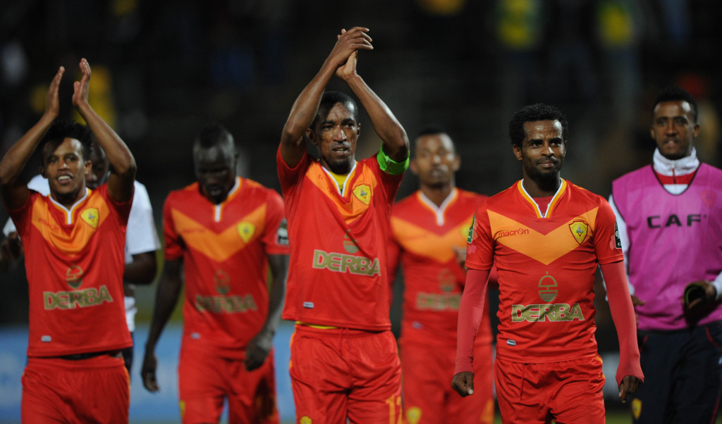 Football - 2017 CAF Champions League - Mamelodi Sundowns v St George - Lucas Moripe Stadium