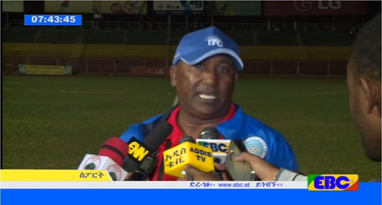 Coach Nigusse Desta