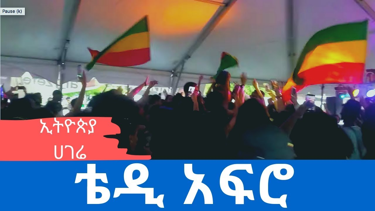 2019 ESFNA Atlanta: Crowd goes wild with Teddy Afro's #Ethiopia : በቴዲ አፍሮ #ኢትዮጵያ በአትላንታ ሲቀወጥ