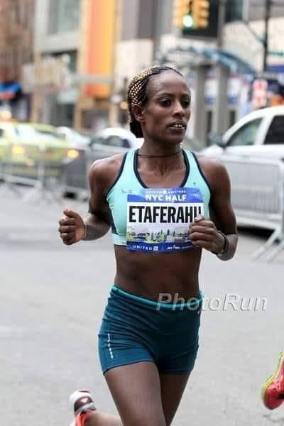 Athlet Etaferahu Temesgen